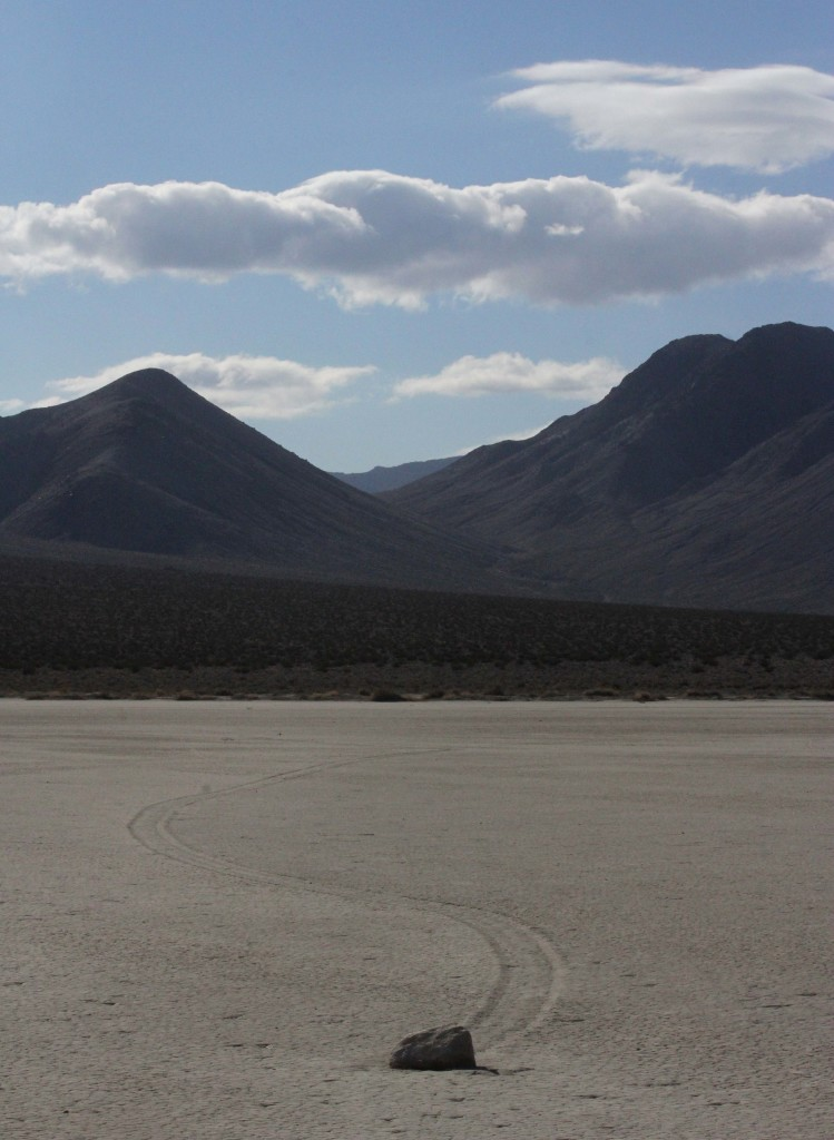 "Another of the ""Sailing Stones."""