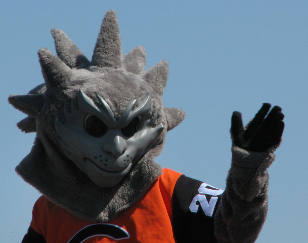 Oscar, the Coalinga High School Mascot