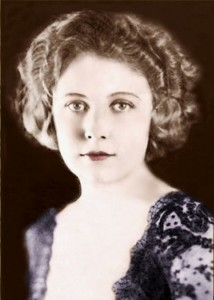 Edna Purviance, silent screen star.