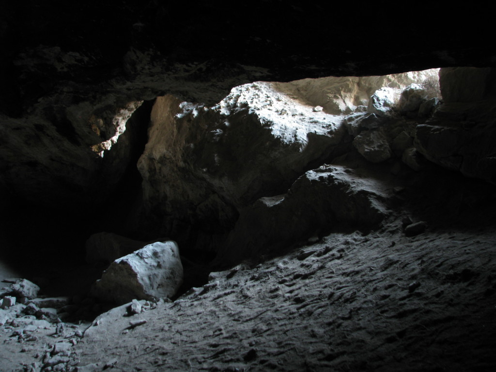 Interior of Lovelock Cave